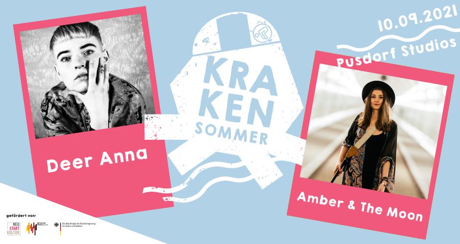 Deer Anna / Amber & The Moon-Indie / Folk-Pusdorf Studios-Konzert